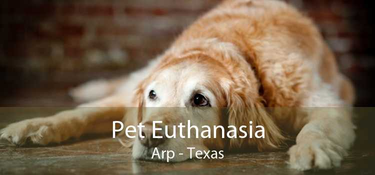 Pet Euthanasia Arp - Texas